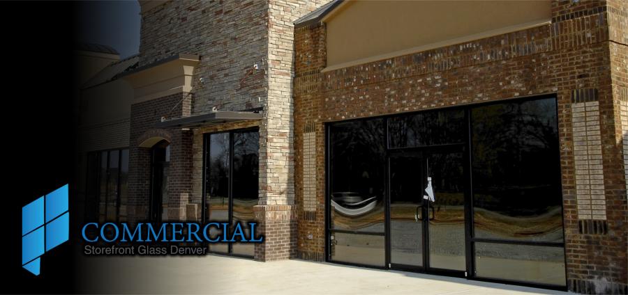 commercial storefront glass denver window door replacement ...