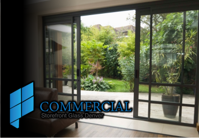 Bifold doors installed commercial glass etching commercial window replacement consultations contact custom sliding glass ... & Full Wall Sliding Glass Doors Denver Lift Slide Moving Windows Systems