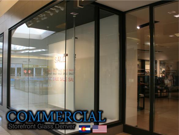commercial glass denver window door install repair 100