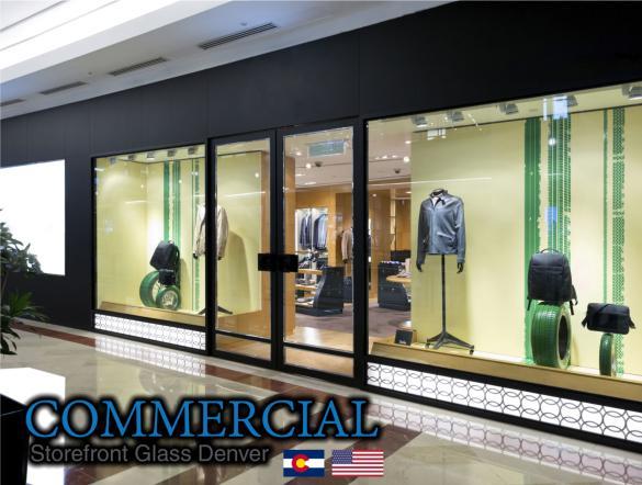 commercial glass denver window door install repair 104