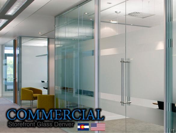 commercial glass denver window door install repair 111