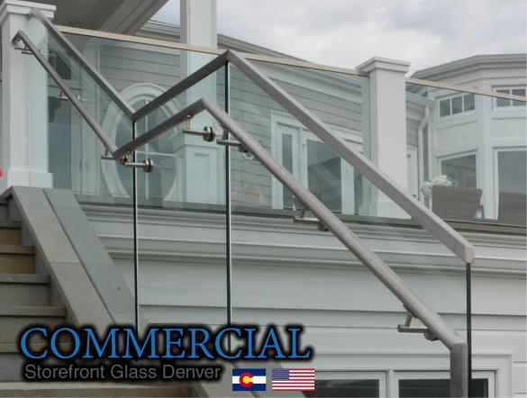 commercial glass denver window door install repair 112