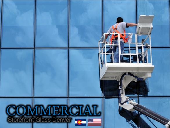 commercial glass denver window door install repair 118