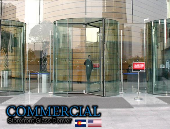 commercial glass denver window door install repair 120