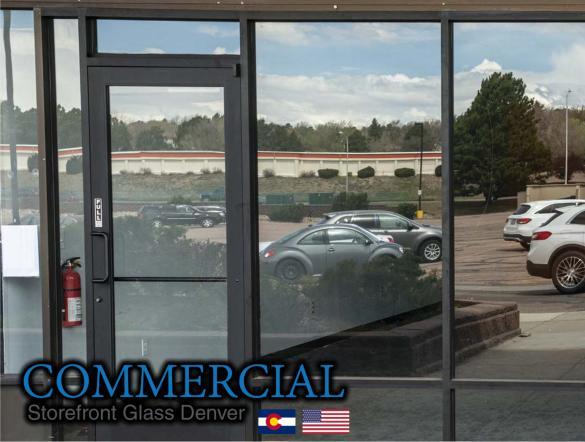 commercial glass denver window door install repair 122