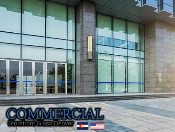 commercial glass denver window door install repair 130