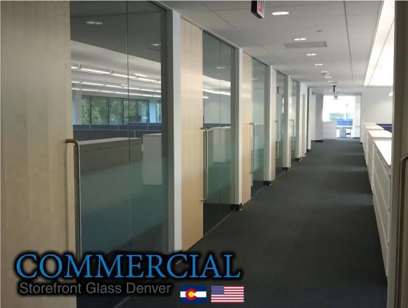commercial glass denver window door install repair 131