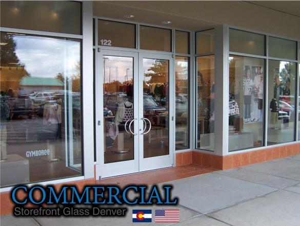 commercial glass denver window door install repair 132