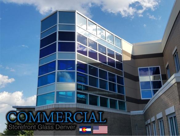 commercial glass denver window door install repair 133