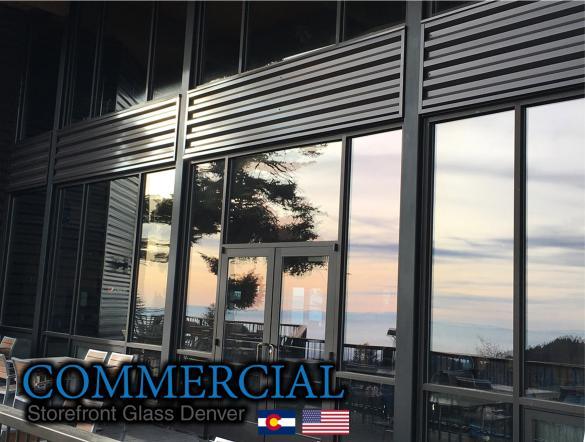 commercial glass denver window door install repair 136