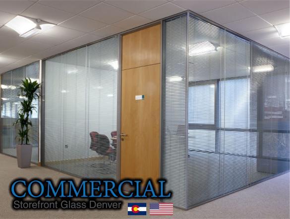 commercial glass denver window door install repair 141
