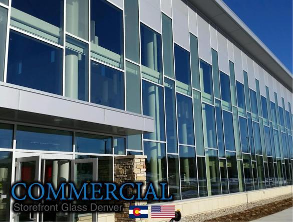 commercial glass denver window door install repair 145