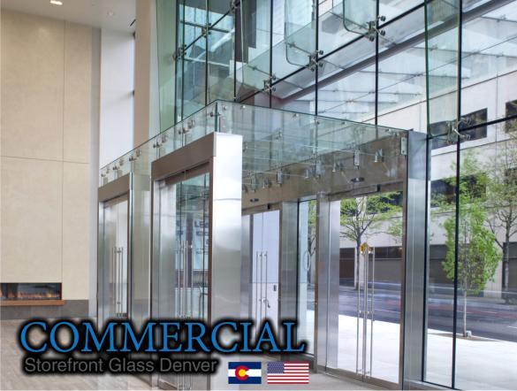 commercial glass denver window door install repair 49