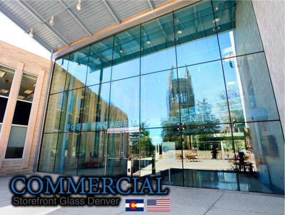 commercial glass denver window door install repair 81