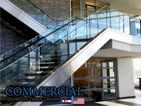 commercial glass denver window door install repair 88