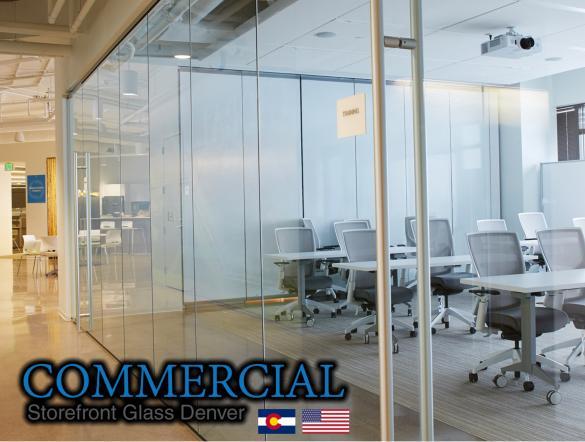 commercial glass denver window door install repair 97
