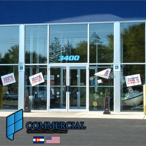 commercial storefront glass denver window door replacement 111