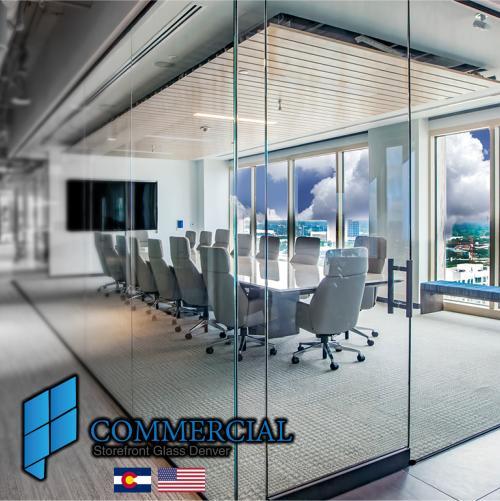 commercial storefront glass denver window door replacement 126