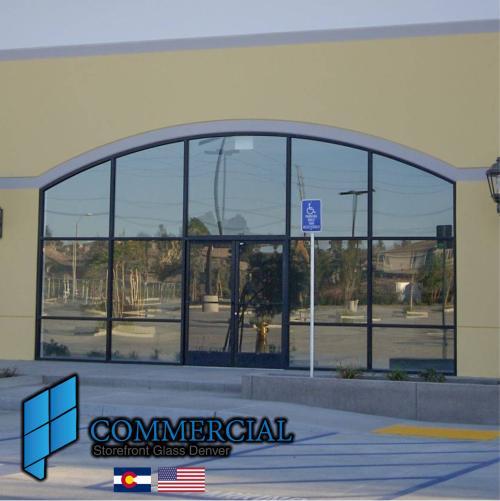 commercial storefront glass denver window door replacement 131