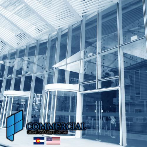 commercial storefront glass denver window door replacement 23