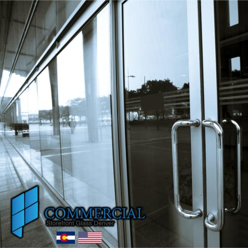 commercial storefront glass denver window door replacement 24