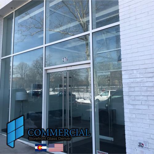 commercial storefront glass denver window door replacement 28