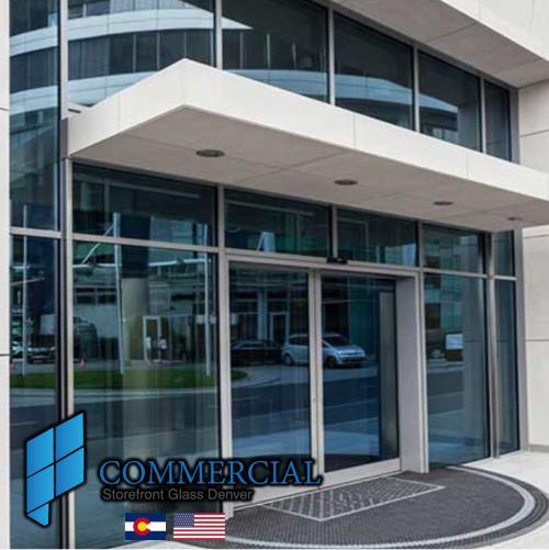 commercial storefront glass denver window door replacement 34