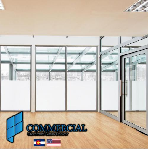 commercial storefront glass denver window door replacement 38