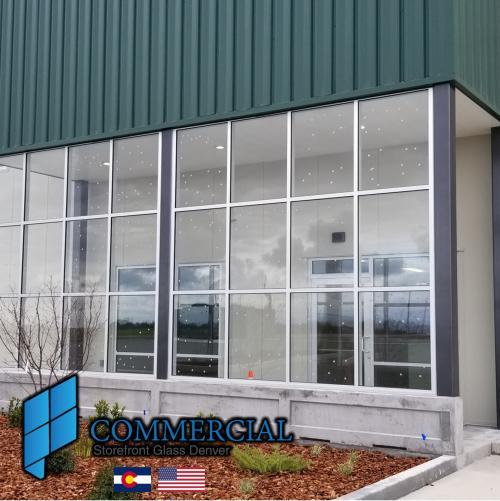 commercial storefront glass denver window door replacement 41