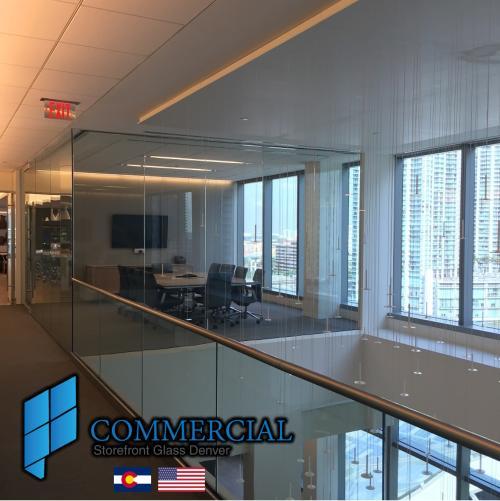 commercial storefront glass denver window door replacement 42