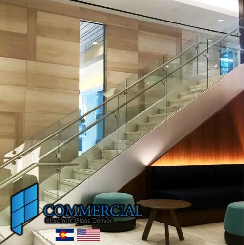 commercial storefront glass denver window door replacement 48