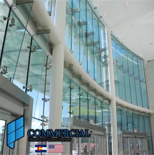 commercial storefront glass denver window door replacement 55
