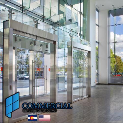 commercial storefront glass denver window door replacement 56