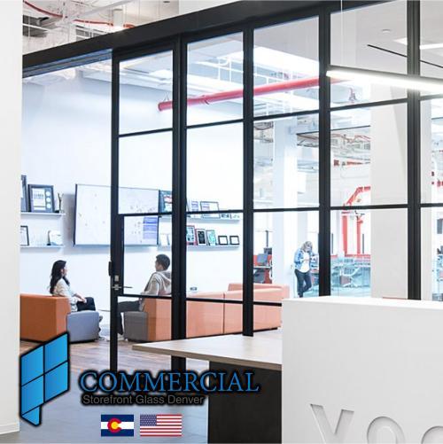 commercial storefront glass denver window door replacement 64