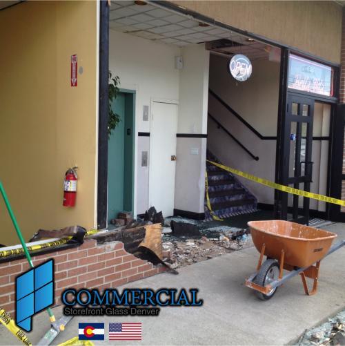 commercial storefront glass denver window door replacement 65