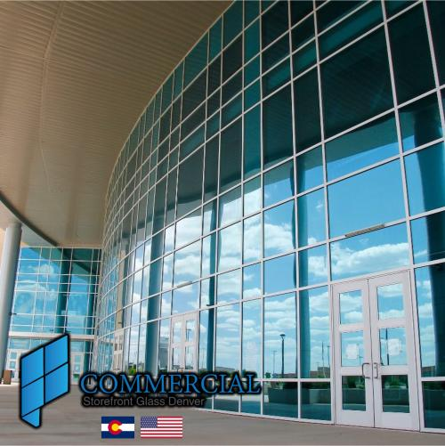 commercial storefront glass denver window door replacement 66