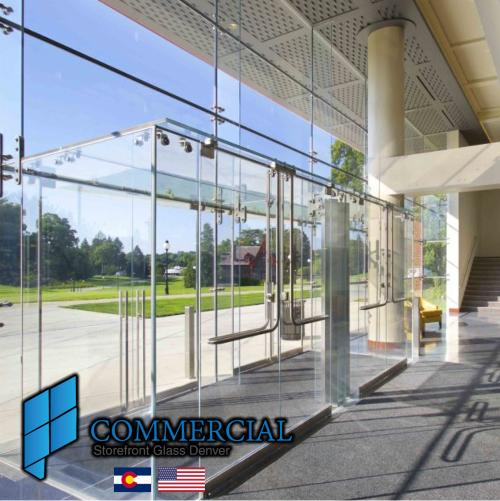 commercial storefront glass denver window door replacement 72
