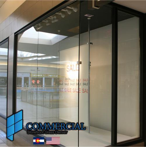 commercial storefront glass denver window door replacement 73