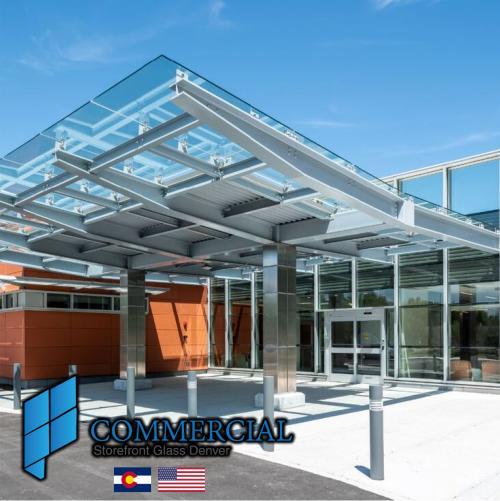 commercial storefront glass denver window door replacement 74