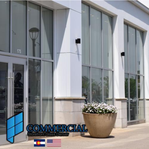 commercial storefront glass denver window door replacement 80