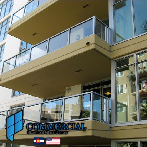 commercial storefront glass denver window door replacement 83