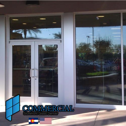 commercial storefront glass denver window door replacement 89
